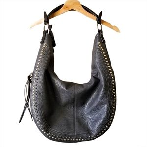 David Jones Boho Shoulder Bag Charcoal Grey